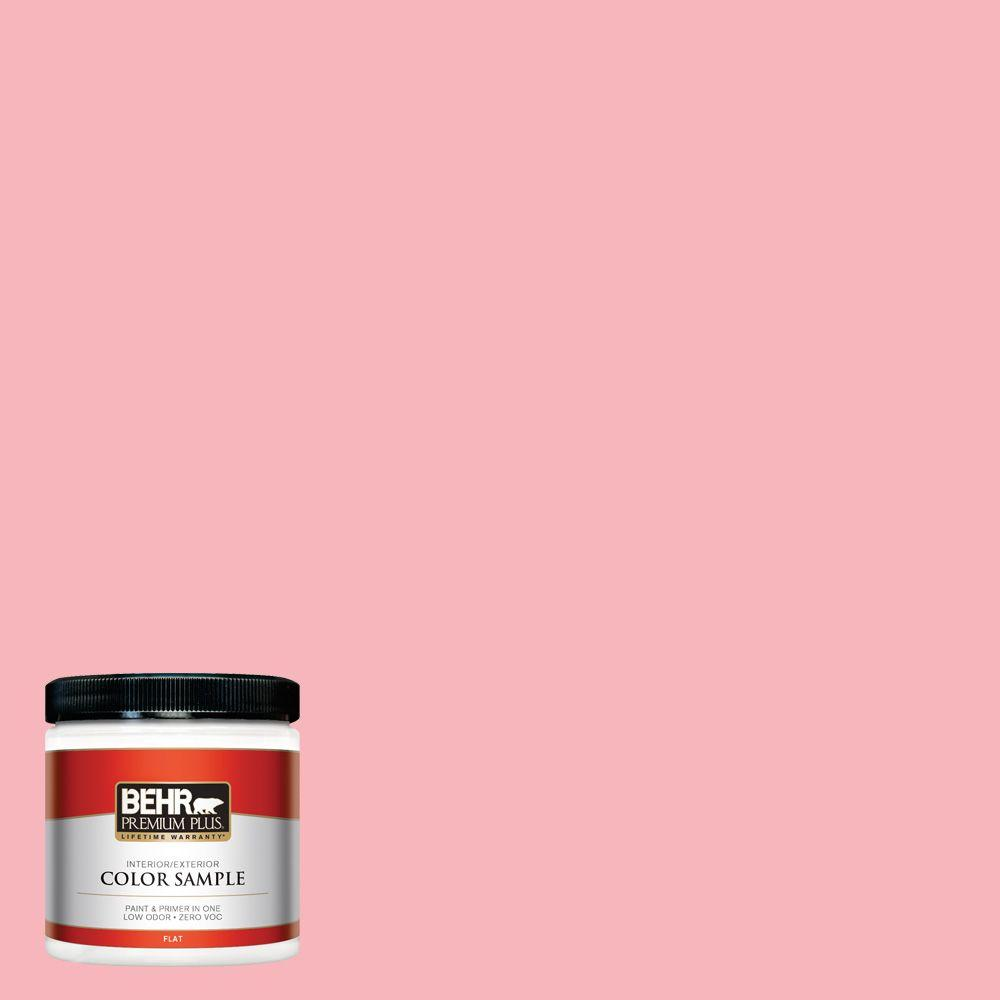 8 oz. #130A-3 Ballerina Pink Interior/Exterior Paint Sample