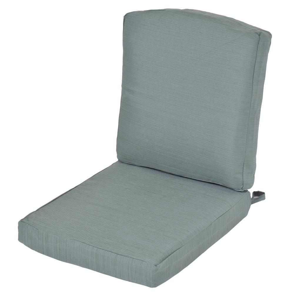 Oak Cliff Surplus Replacement 2 Piece Outdoor Dining Chair Cushion