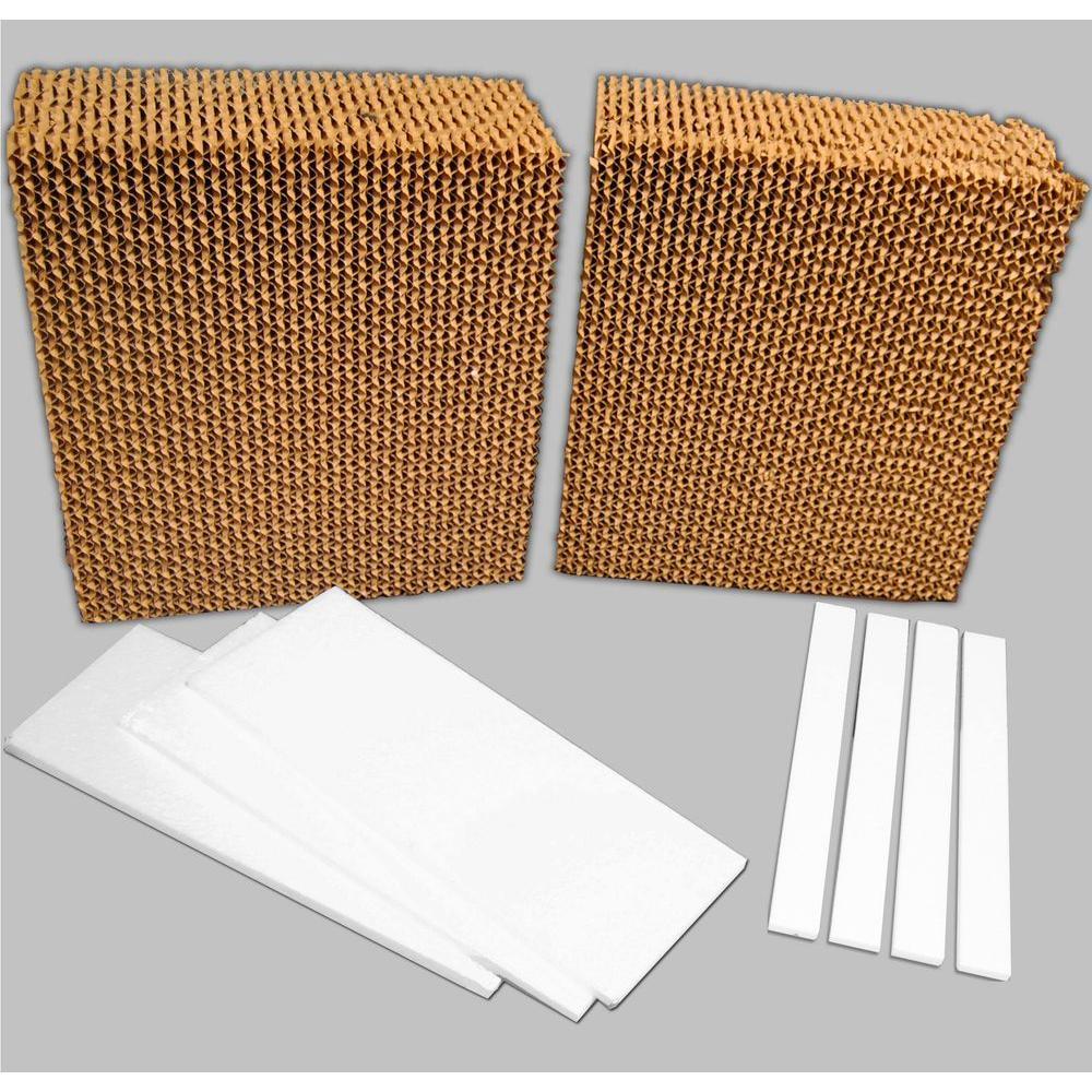 Evaporative Cooler Replacement Pads : Mastercool cfm in universal rigid media for