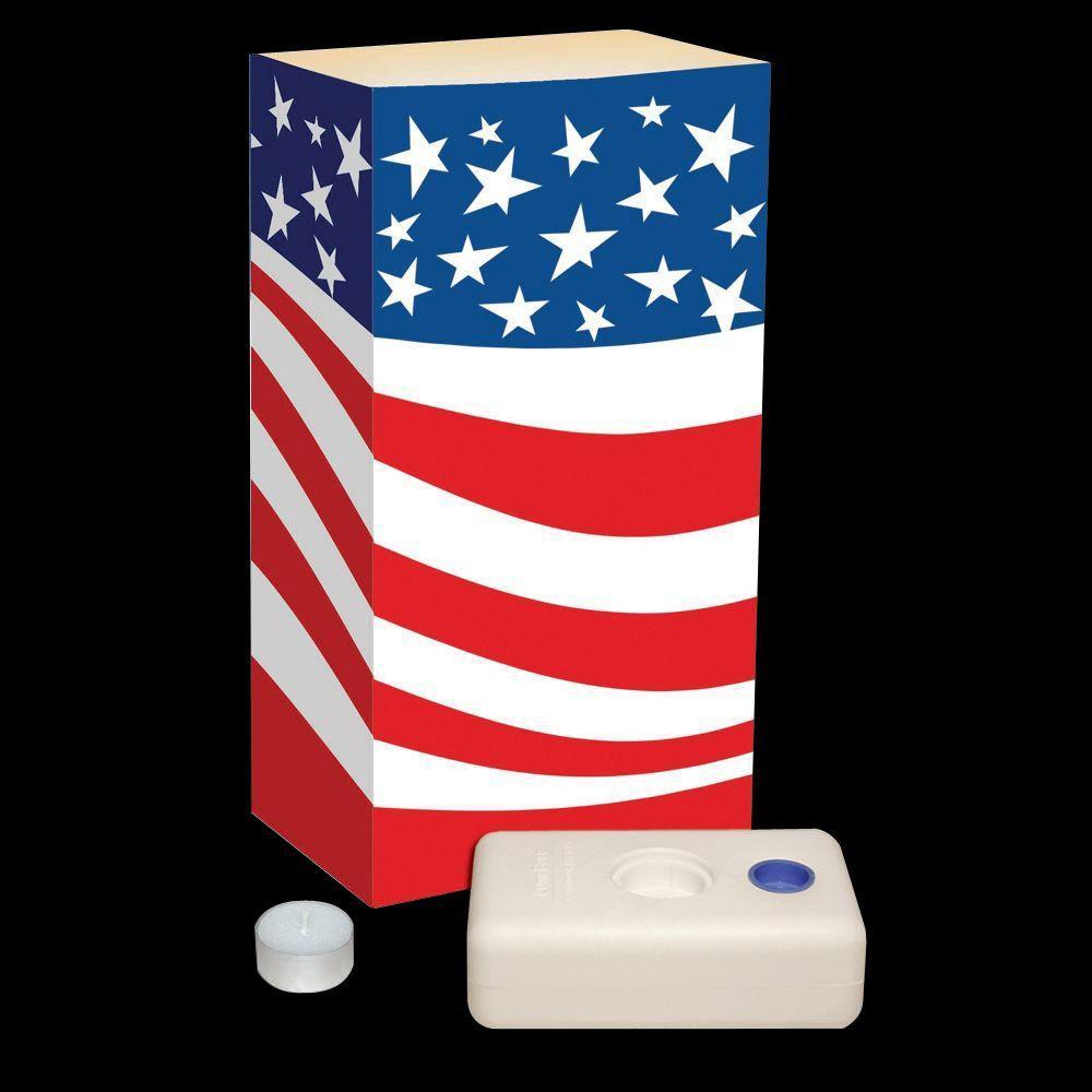 Candle Luminaria Kit in Americana (Set of 12)