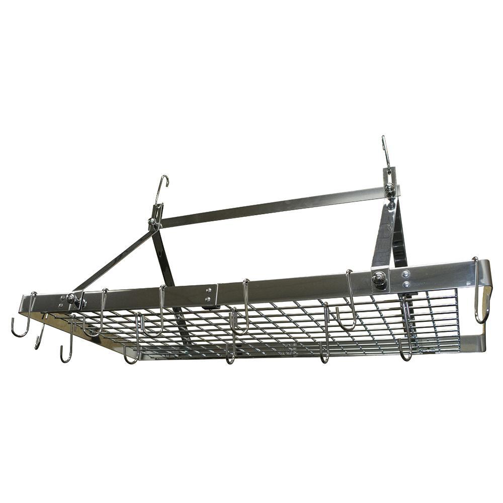 Range Kleen Stainless Steel Pot Rack Rectangle