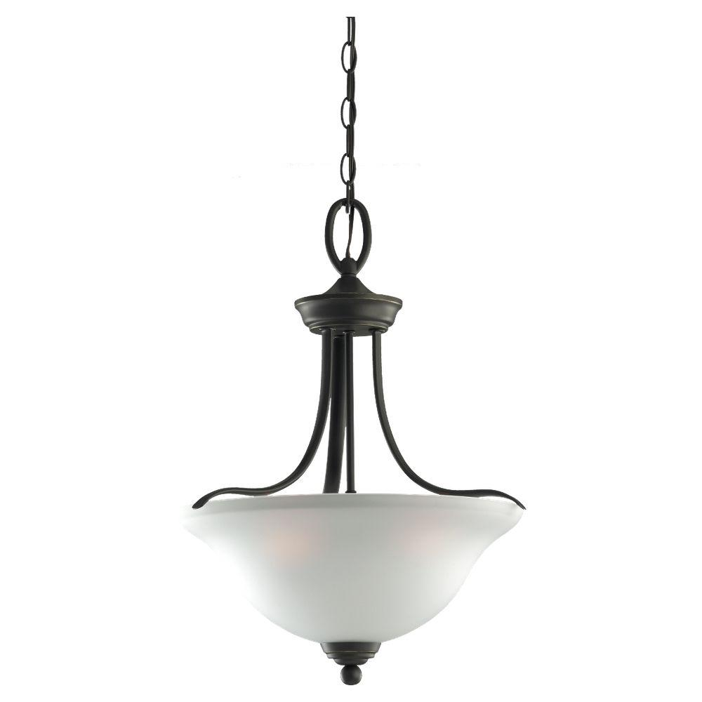 Sea Gull Lighting Wheaton 3-Light Heirloom Bronze Pendant