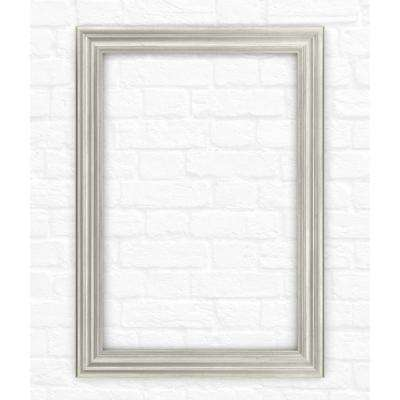 29 in. x 41 in. (M3) Rectangular Mirror Frame in Vintage Nickel