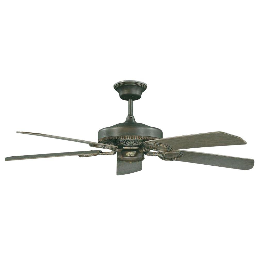 Radionic Hi Tech Fazillie 52 In Oil Rubbed Bronze Ceiling Fan With 5 Blades
