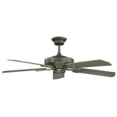 Fazillie 52 in. Oil Rubbed Bronze Ceiling Fan with 5 Blades