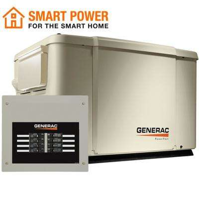 PowerPact 7,500-Watt Air Cooled Standby Generator with 50 Amp Transfer Switch