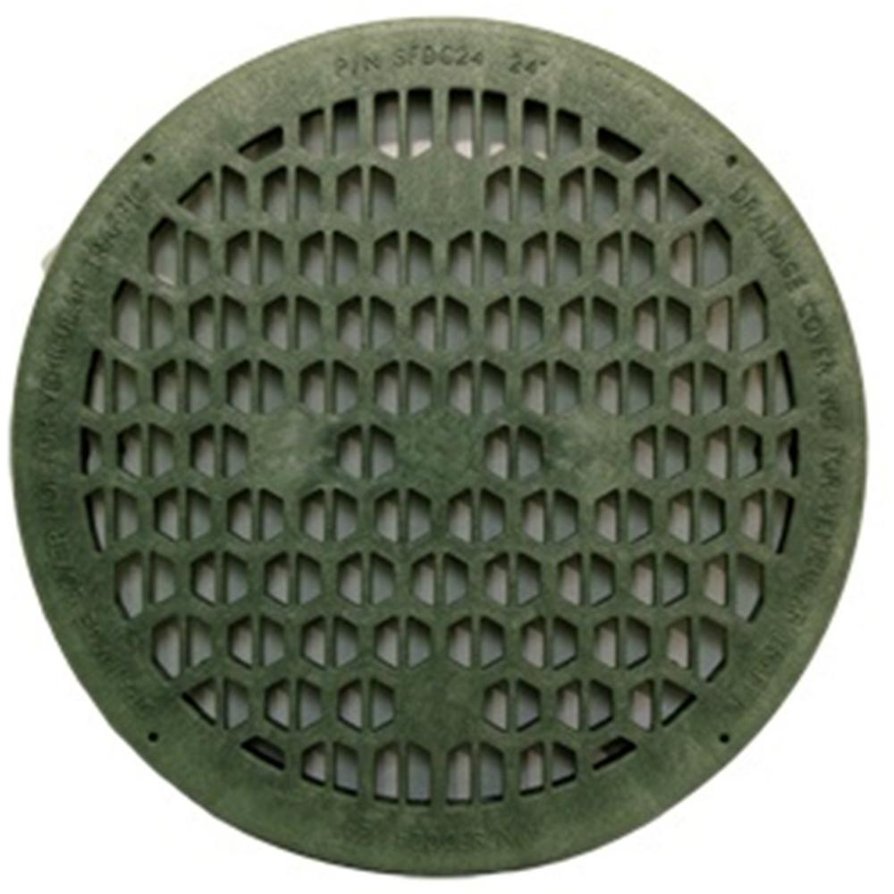 24 in. Green Drainage Cover