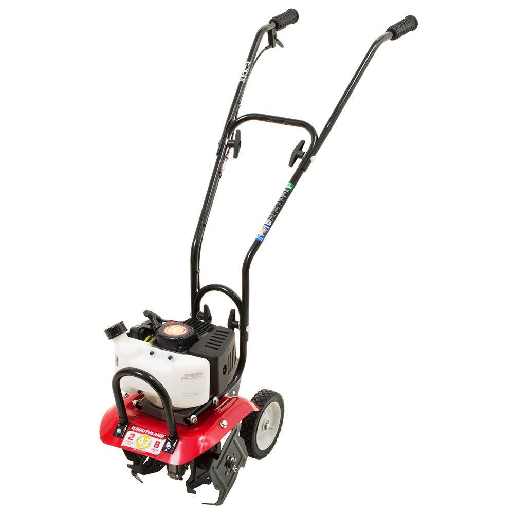 Southland 10 in. 43cc Gas 2-Cycle Cultivator with Carb Co...