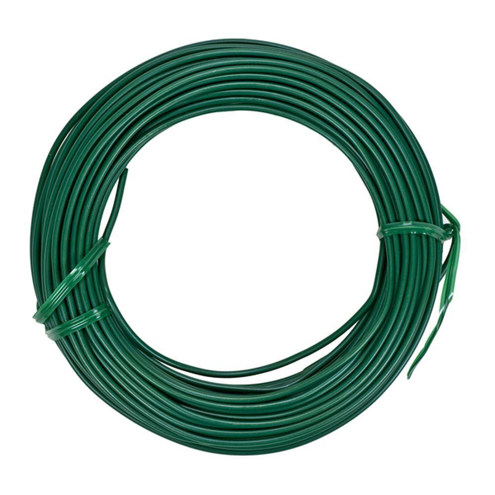 Garden Tie Wire : Vigoro ft heavy duty coated wire t bvg the home depot