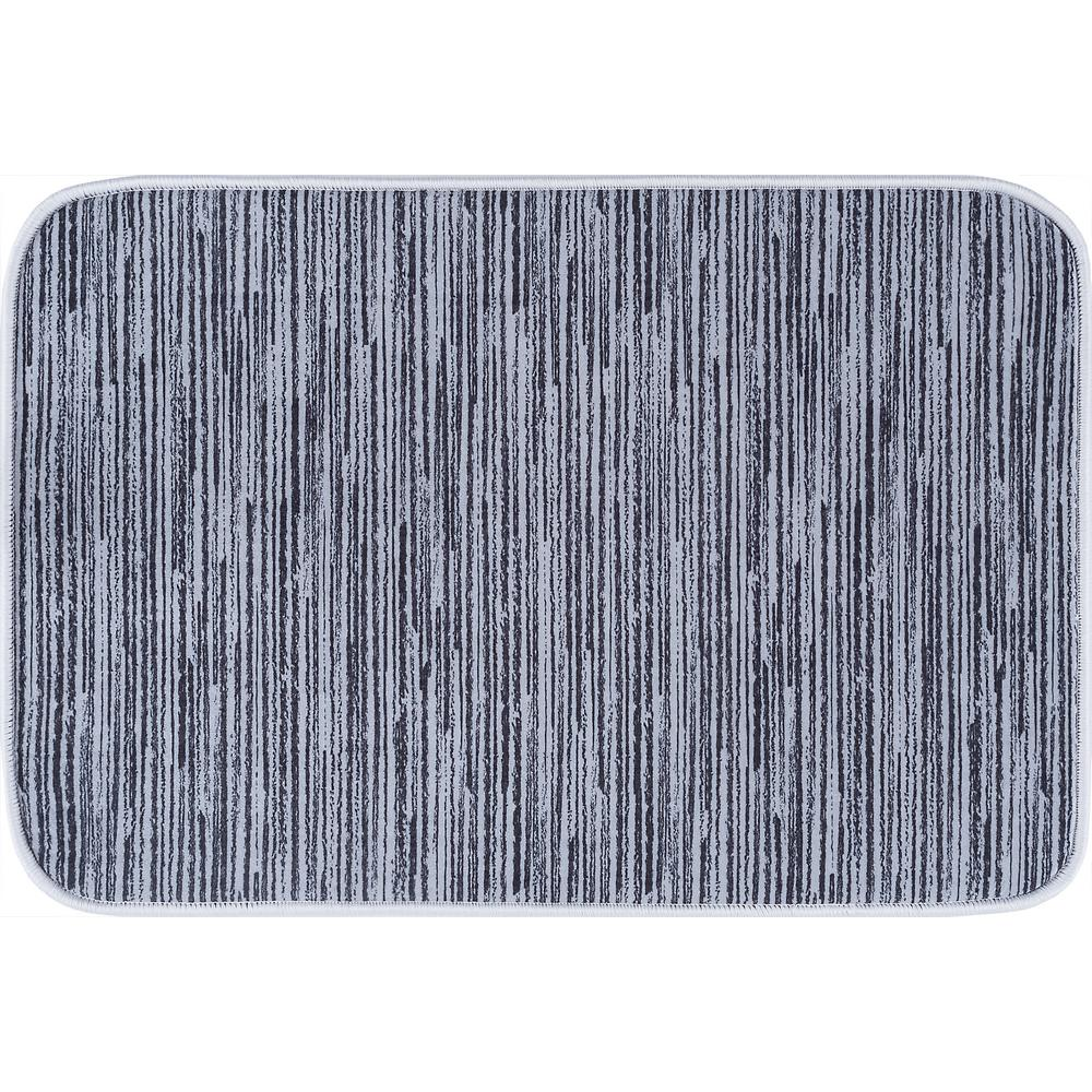 Tayse Rugs Luxor Home Gray 20 In X 30 In Anti Fatigue