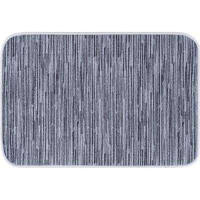Luxor Home Gray 2 ft. x 3 ft. Anti-Fatigue Non-Slip Comfort Mat