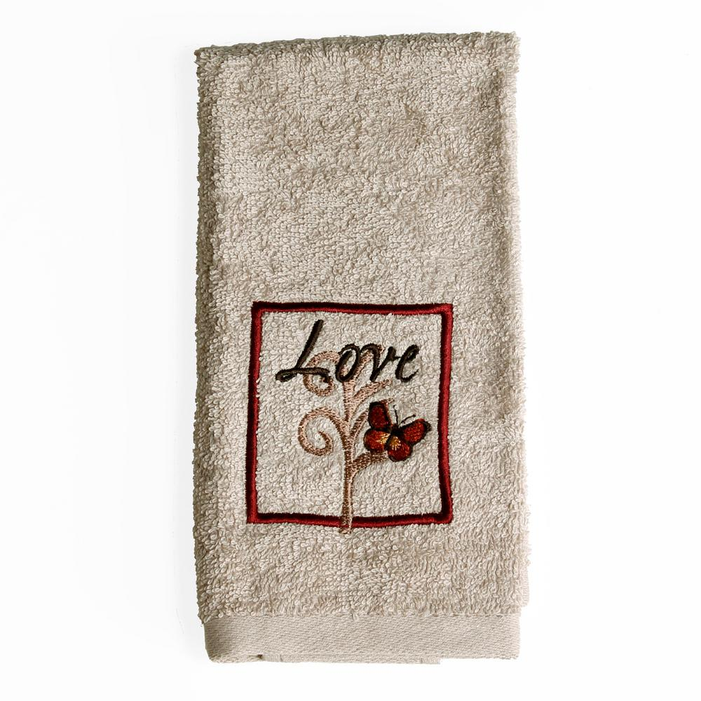 Saturday Knight Grace 100 Cotton Fingertip Towel In Tan