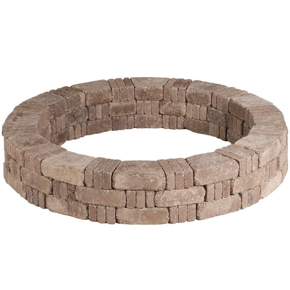 RumbleStone 59.2 in. x 10.5 in. Tree Ring Kit in Greystone