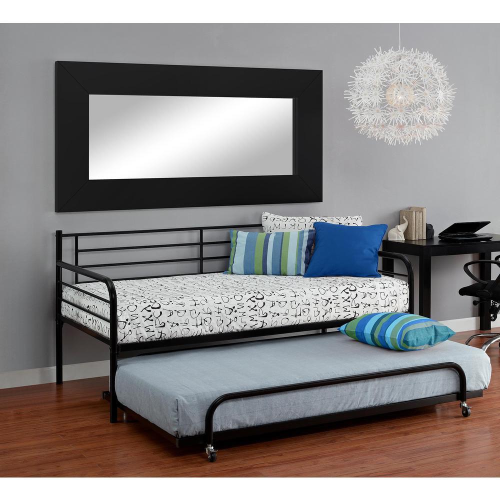 Black Trundle. Daybeds   Bedroom Furniture   The Home Depot