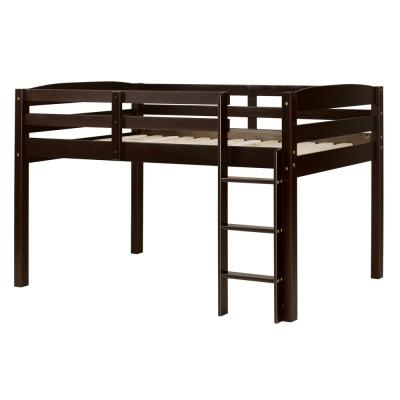 Concord Cappuccino Twin Size Junior Loft Bed