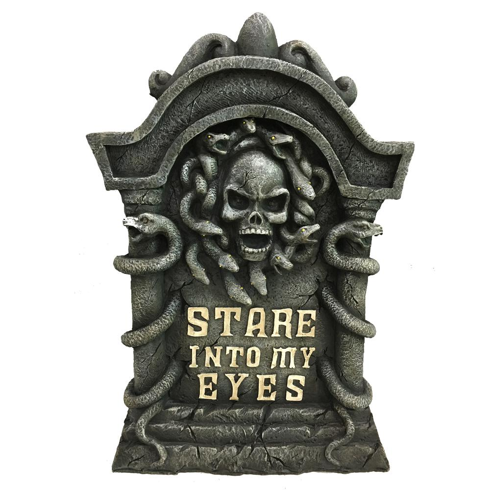 Home Accents Holiday 22 in. H Halloween Lighted Tombstone ...