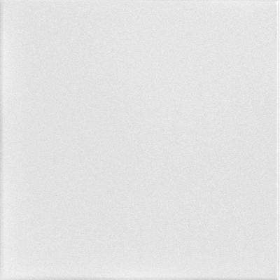 Basic 1.6 ft. x 1.6 ft. Foam Glue-up Ceiling Tile in Plain White (21.6 sq. ft. / case)