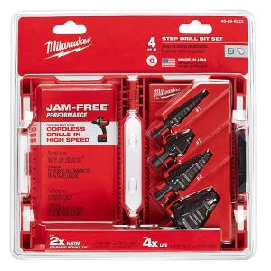 Milwaukee Step Drill Bit Kit (4-Piece) by Milwaukee