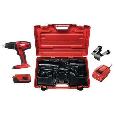 SFC 22-Volt Advanced Compact Battery Cordless 1/2 in. Chuck Drill Driver with Plastic Case