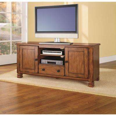 Summit Mountain Tuscany Oak Storage Entertainment Center