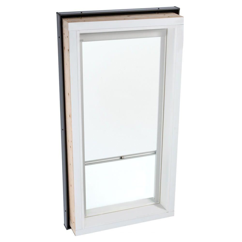 VELUX White Manually Operated Blackout Skylight Blind for FCM/QPF 2246 Models