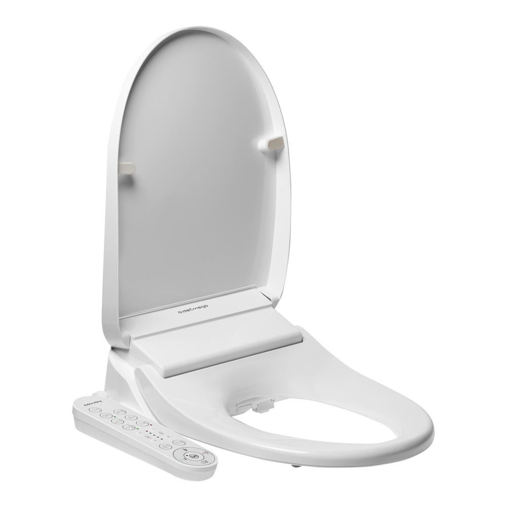 Stupendous Coway Bidetmega 200 Electric Bidet Seat For Elongated Toilets In White Ocoug Best Dining Table And Chair Ideas Images Ocougorg