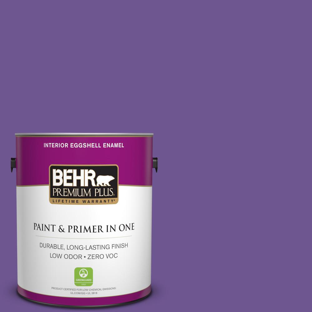 BEHR Premium Plus 1-gal. #P570-6 Classic Waltz Eggshell Enamel Interior Paint