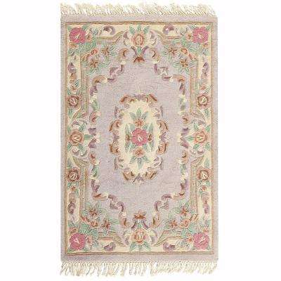 Imperial Shell Beige 5 ft. x 8 ft. Area Rug