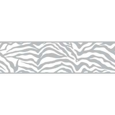 Inspired By Color Zebra Wallpaper Border