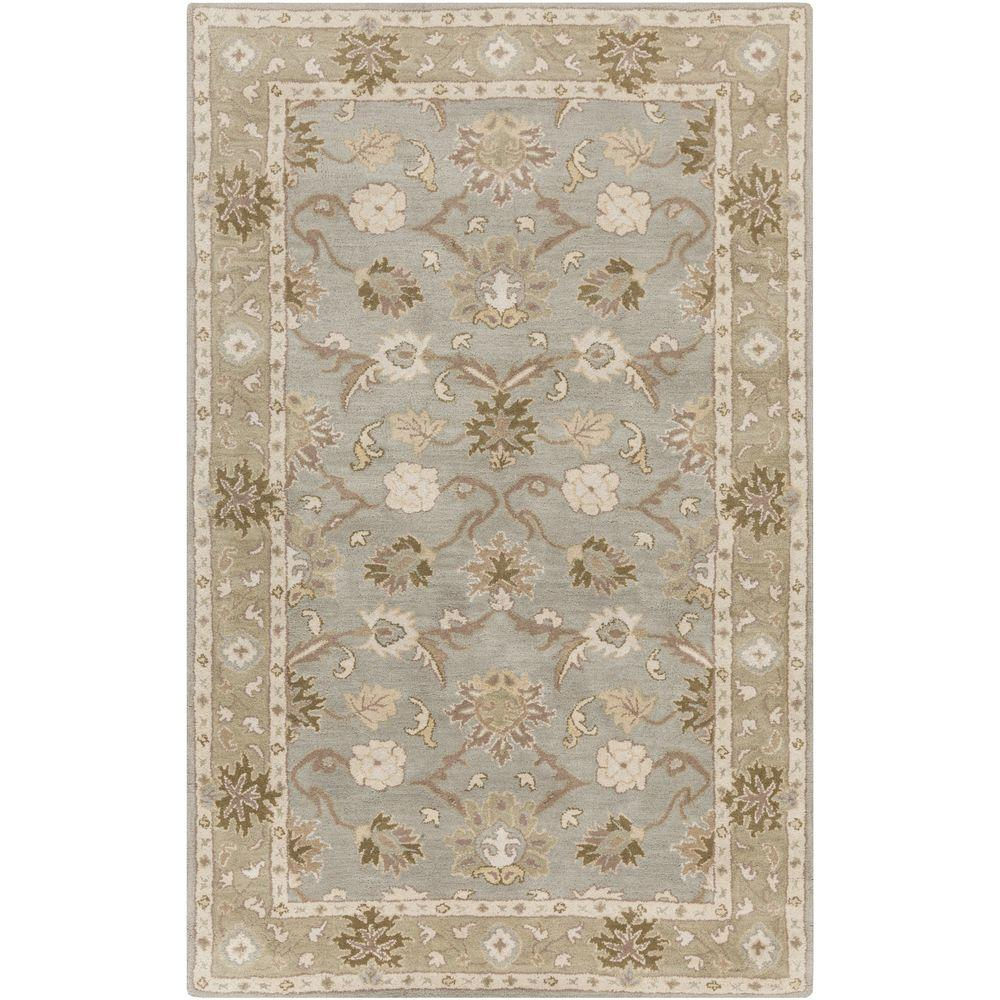 Cicero Ash Gray 9 ft. x 12 ft. Indoor Area Rug