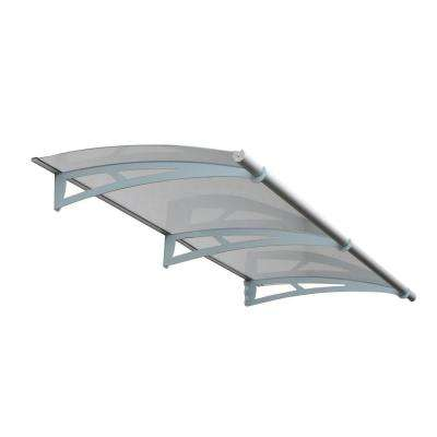 6 ft. 9 in. Aquila 2050 Awning 6.9 in. H x 3 ft. D Solar Gray