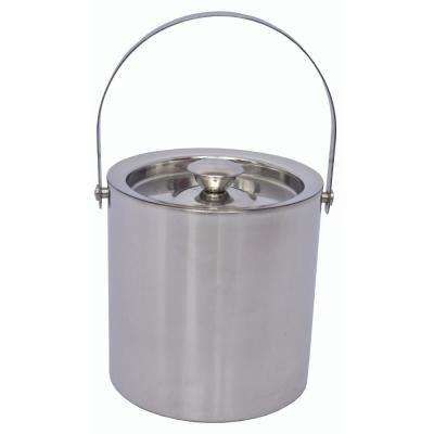 2 Qt. Stainless Steel Double Wall Ice Bucket