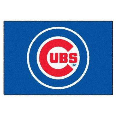 Chicago Cubs 1 ft. 7 in. x 2 ft. 6 in. Accent Rug