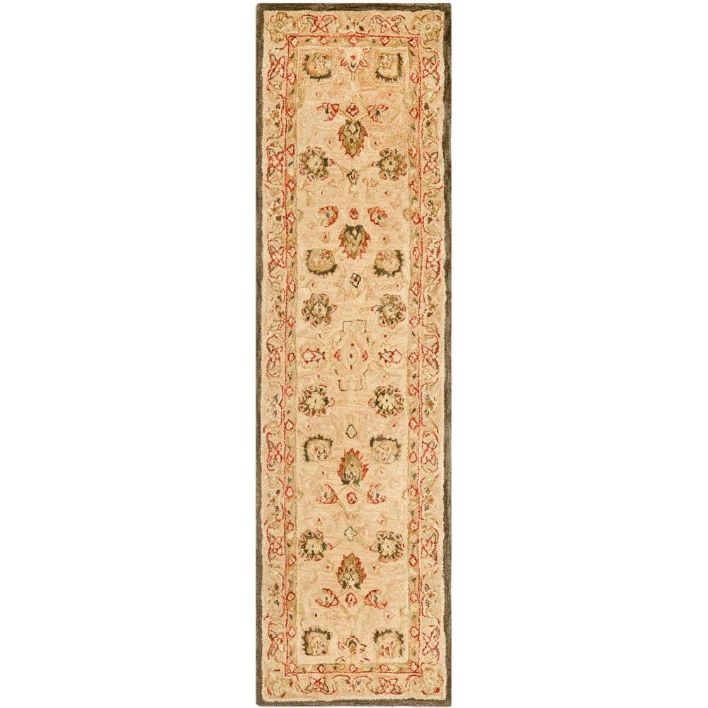 Anatolia Ivory/Beige 2 ft. 3 in. x 8 ft. Runner