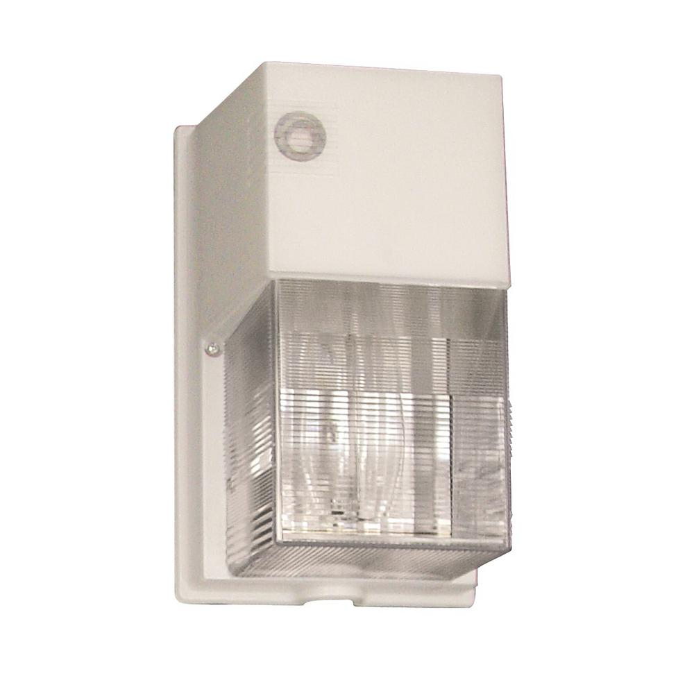 Lithonia Lighting Compact Fluorescent 4-Pin Tri-Tube Lamp White Wall Pack