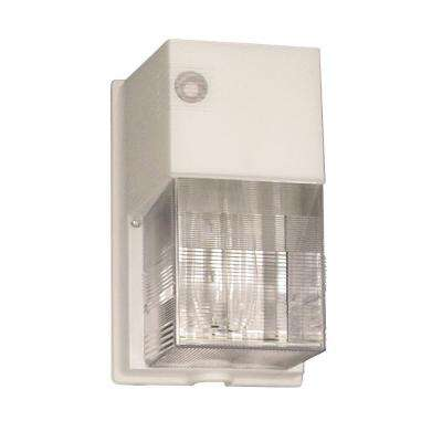 Compact Fluorescent 4-Pin Tri-Tube Lamp White Wall Pack