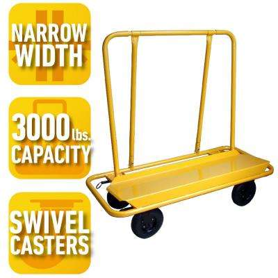 3000 lb. Load Capacity Drywall Cart