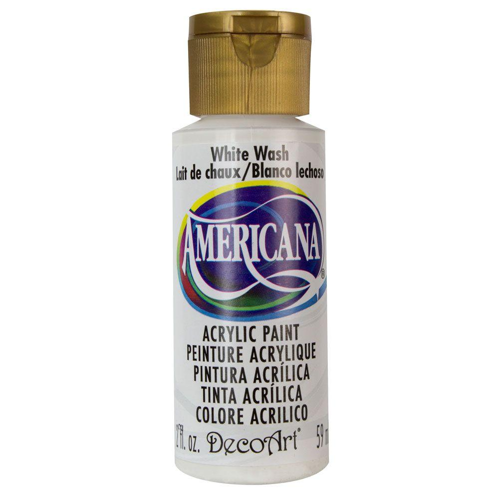 DecoArt Americana 2 oz. White Wash Acrylic Paint