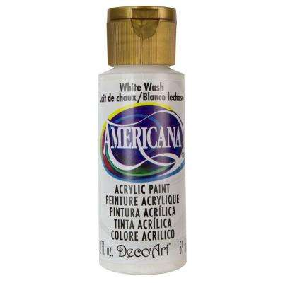 Americana 2 oz. White Wash Acrylic Paint