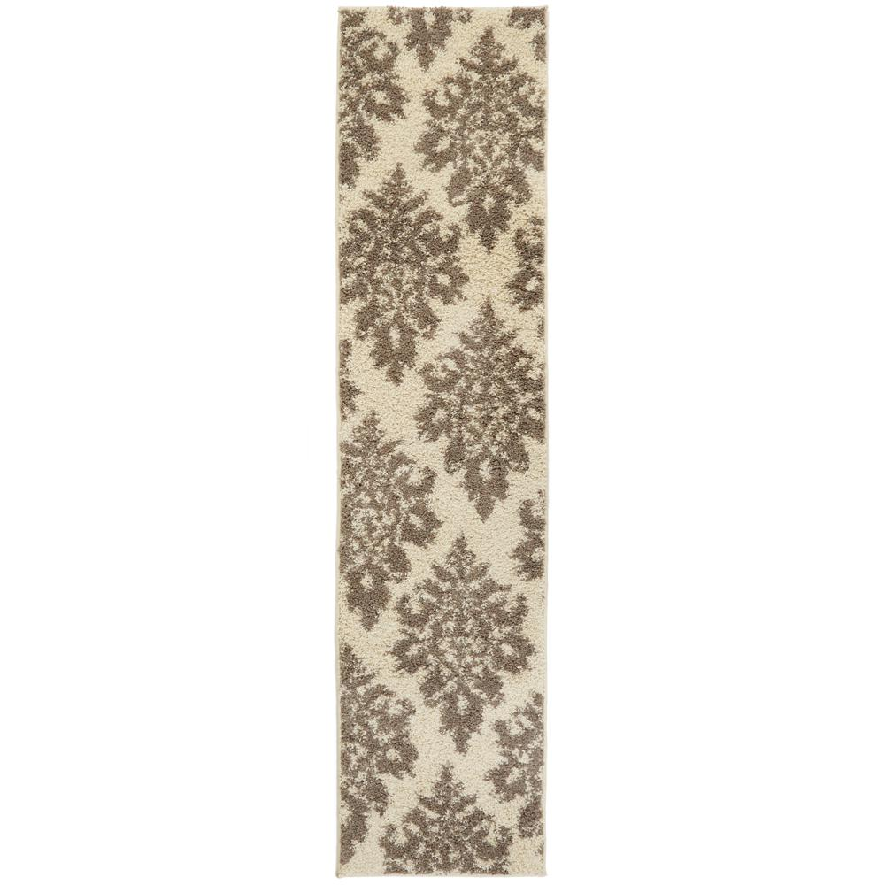 Meadow Damask Ivory 1 ft. 10 in. x 7 ft. 6