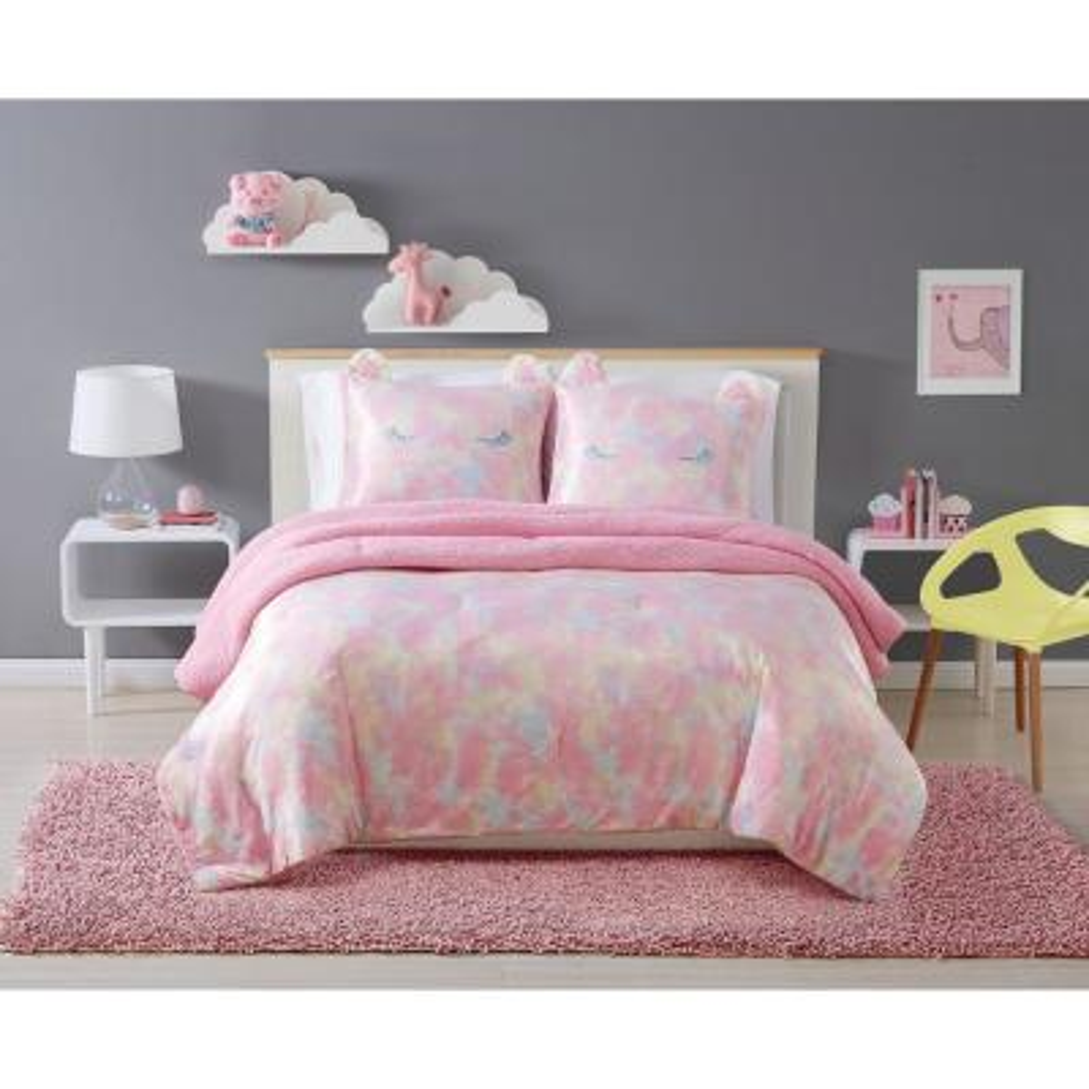 Rainbow Sweetie Multi Full/Queen Polyester Comforter Set