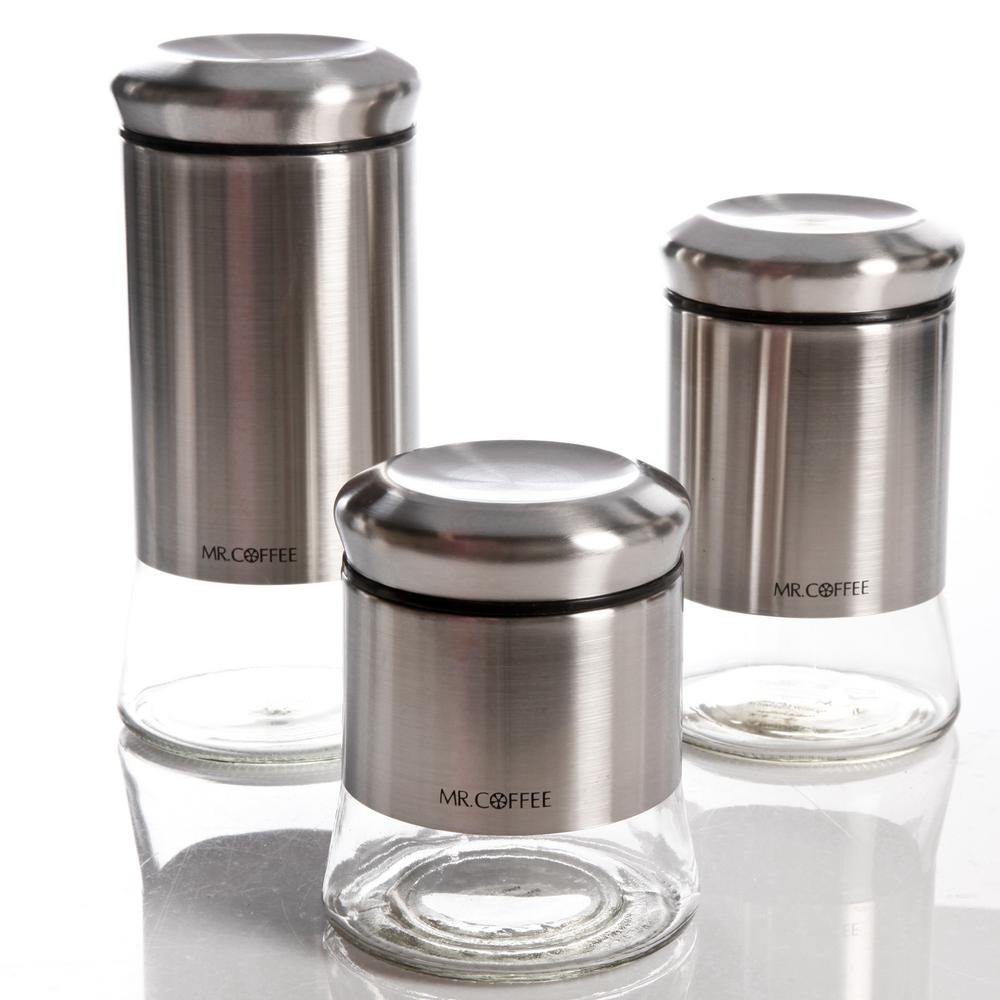 Mr Coffee 3 Piece Canister Set