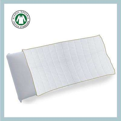 Organic Cotton Box Quilted Pillow Protector