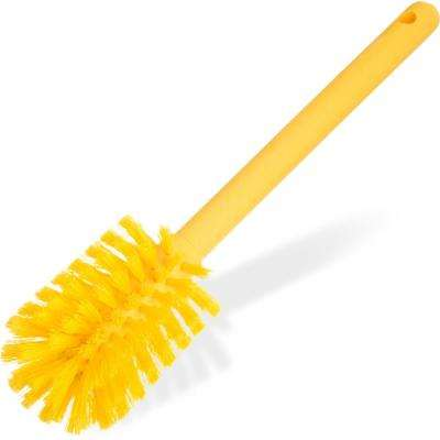 Sparta 12 in. Polyester Bottle Brush in Yellow (6-Pack)