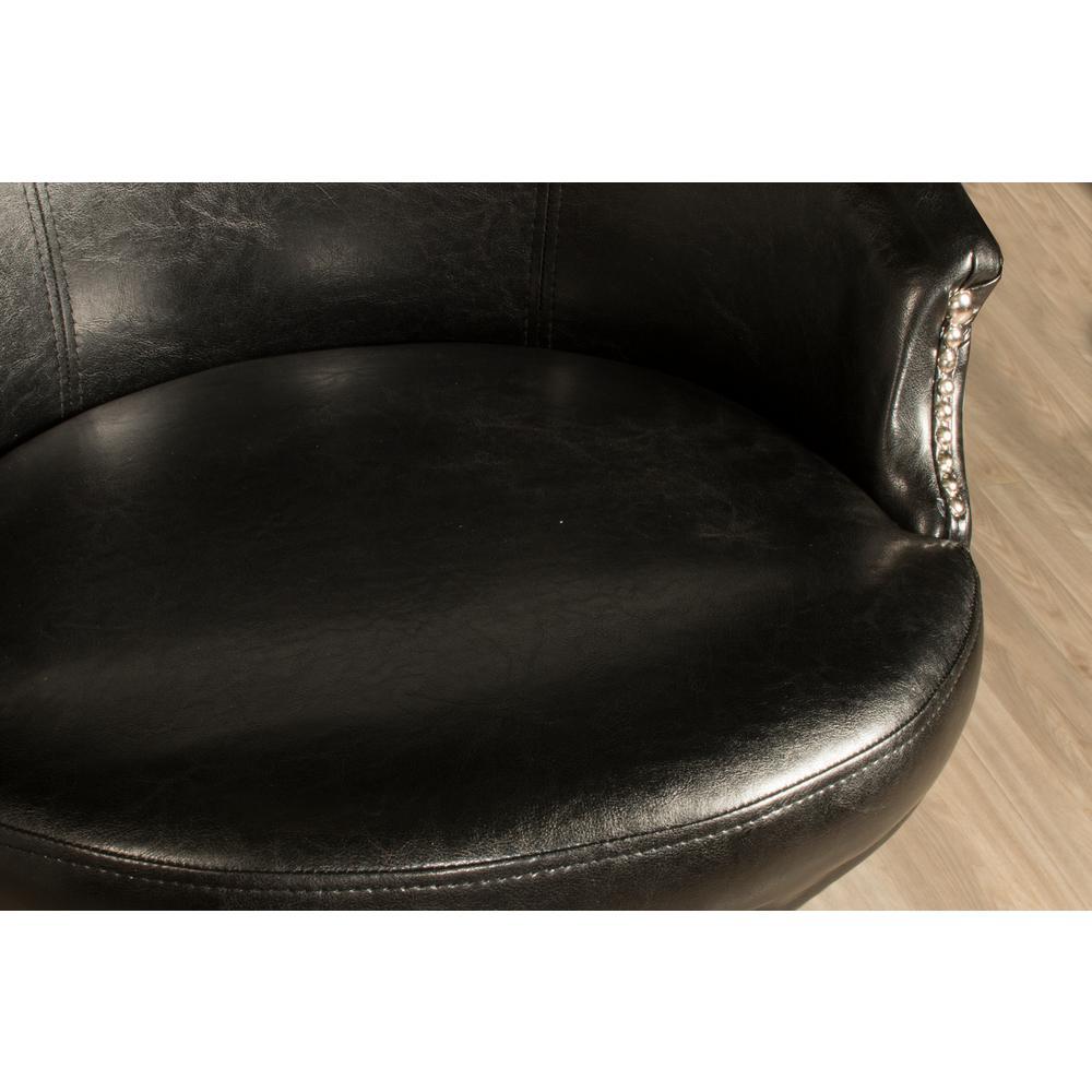Remarkable Dartford 30 In Dark Brown Cherry Black Swivel Bar Stool Ncnpc Chair Design For Home Ncnpcorg