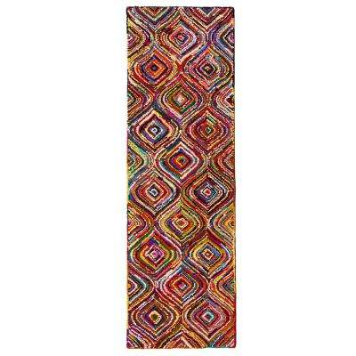 Lantern Multicolored 2 ft. 6 in. x 8 ft. Runner
