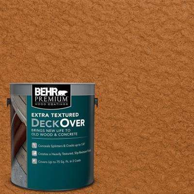 1 gal. #SC-533 Cedar Naturaltone Extra Textured Solid Color Exterior Wood and Concrete Coating