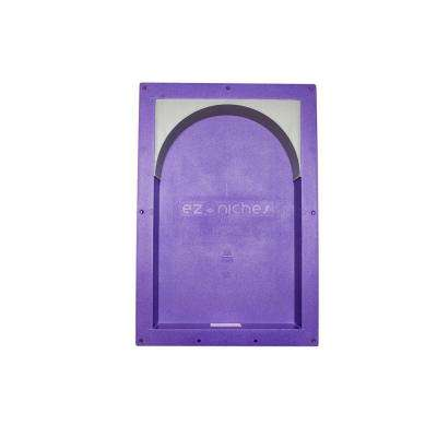 14 in. x 22 in. x 4 in. Large Rectangular Niche with Arch