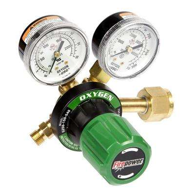 250 Series OxyFuel Oxygen Regulator for Tips with 5 in. Cutting Capacity