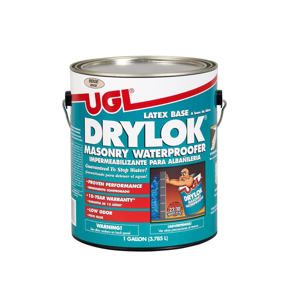 DRYLOK 1 Gal. Beige Ready Mixed Latex Base Waterproofer